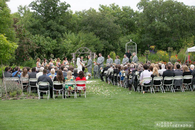 The beautiful wedding venue at Pineridge Hollow