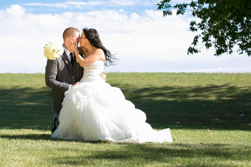 Trista and Randall during their newlywed images at Selkirk Park