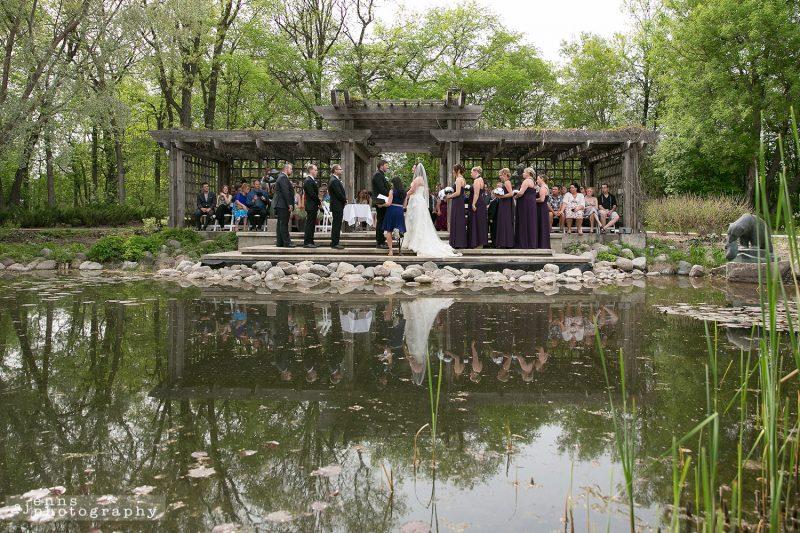 Ceremony at Leo Mole Garden at Assiniboine Park