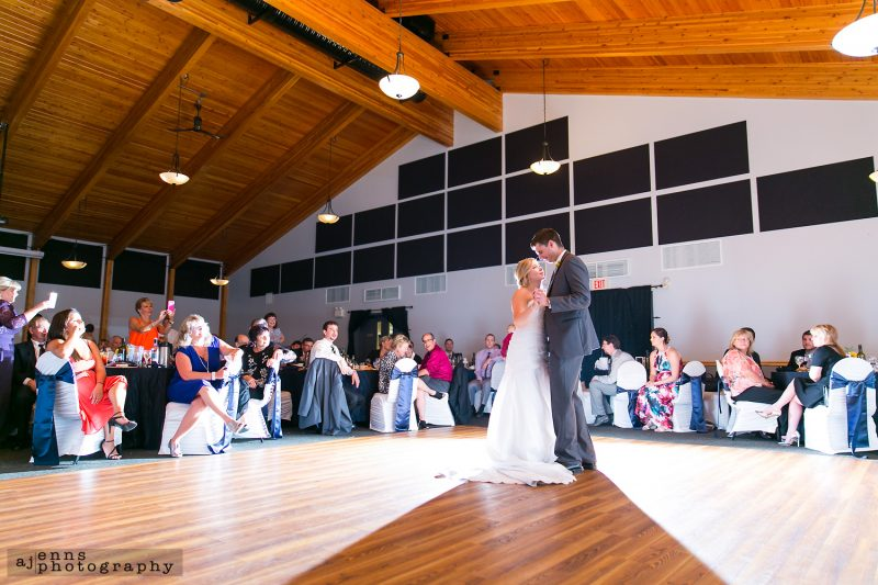 The first dance at the St Boniface Golf Club