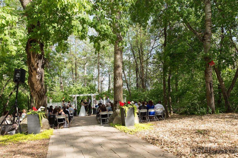The wedding venue at Pine Ridge Golf Club